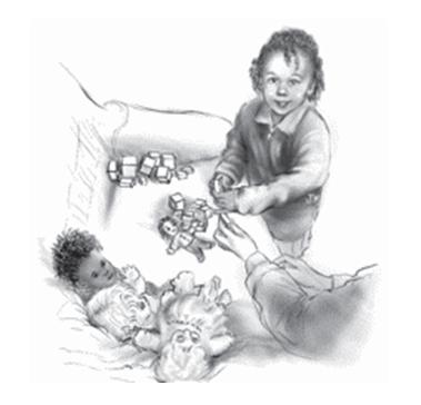 Сортировка игрушек