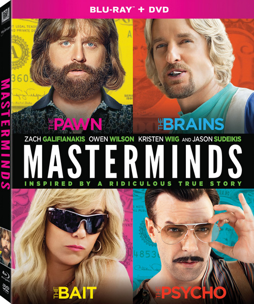 Зачинщики / Masterminds (2016/BDRip/HDRip)