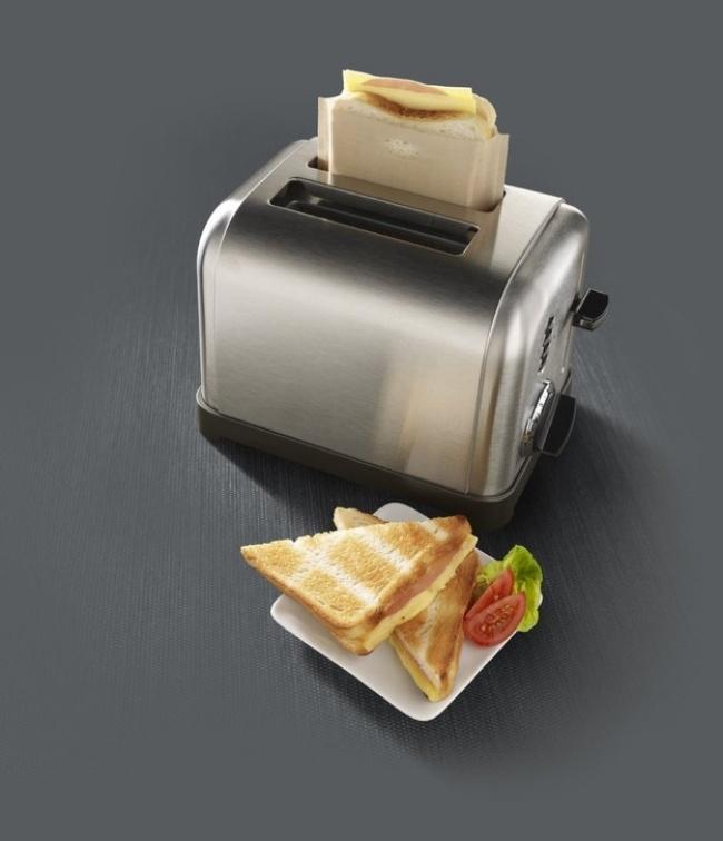 © amazon.com  Разогревать тосты сначинкой теперь вполне реально. Втостер непрольется никап