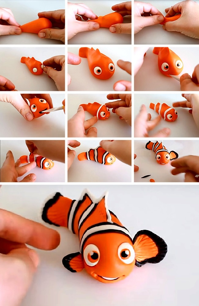 7идей для создания пластилиновых игрушек, откоторых дети будут ввосторге (7 фото)