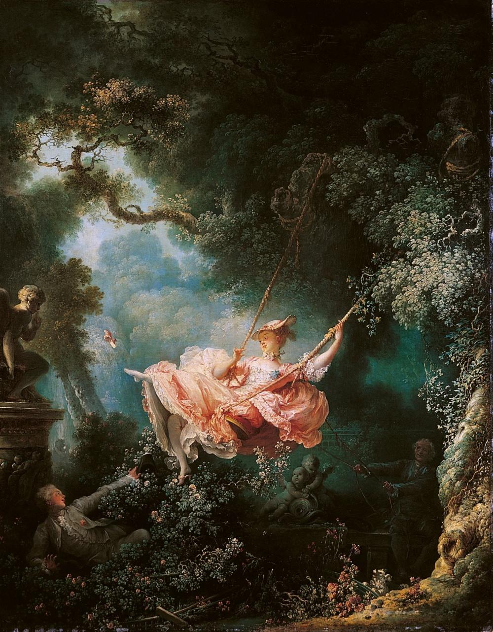 Жан Оноре Фрагонар, «Качели», 1767