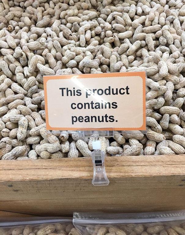 Продукт содержит арахис.