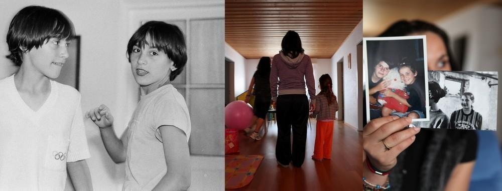 Близнецам А. и Б. было 13 лет в 1997 году. В 2006 Б. стала жертвой сутенеров, принудивших ее занимат