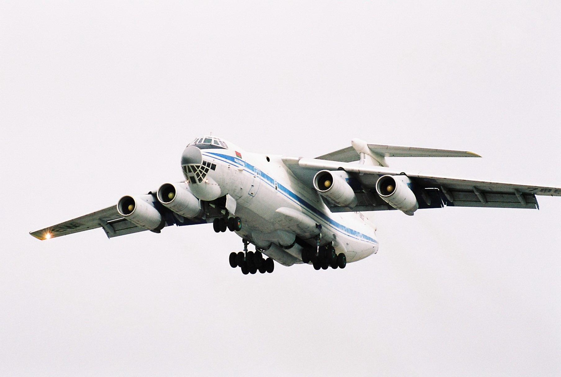 ВИркутской области пропал Ил-76