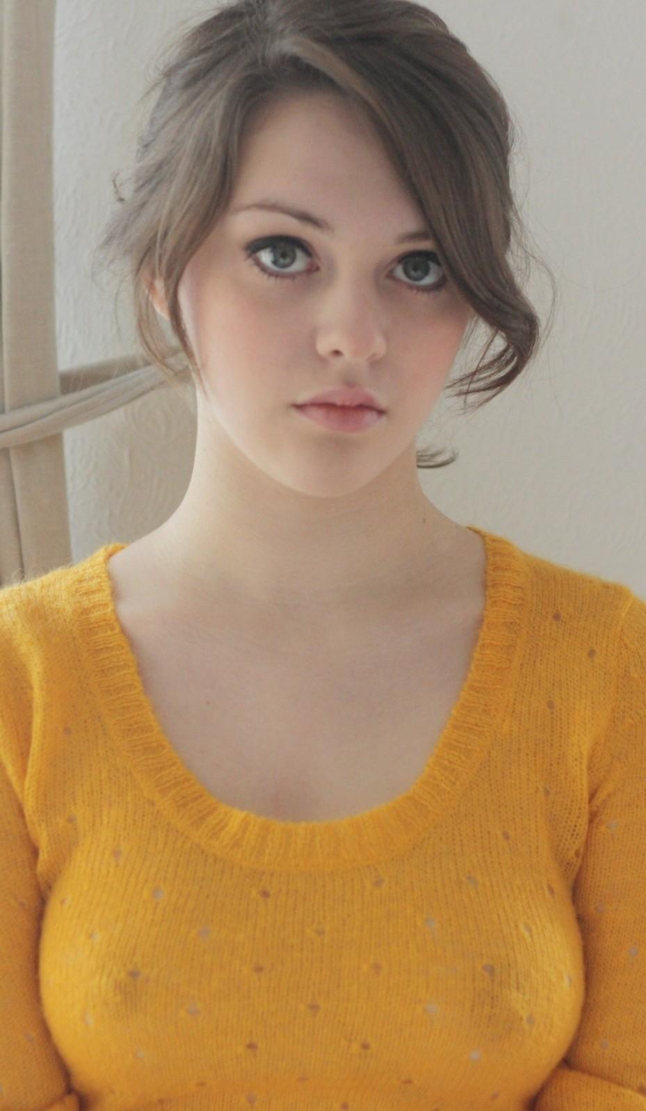 Девушки с выразительными глазами