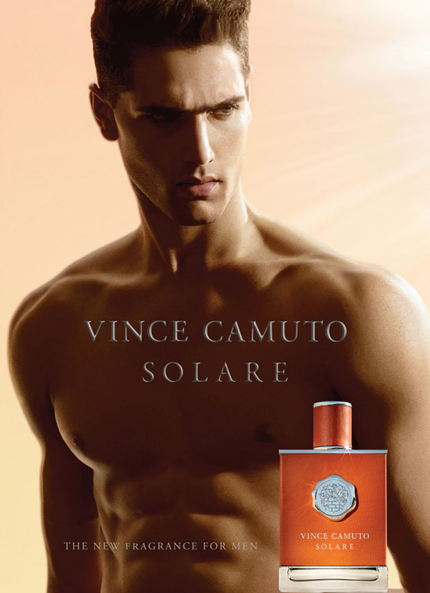 Italian Top Model Fabio Mancini for Vince Camuto Solare