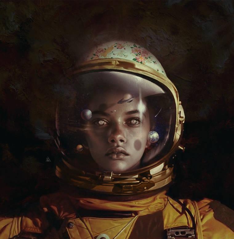 Cosmic Love - The poetic and haunting illustrations of Aykut Aydogdu