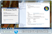 Windows Thin PC SP1 with Update (x86) adguard (v16.09.18)