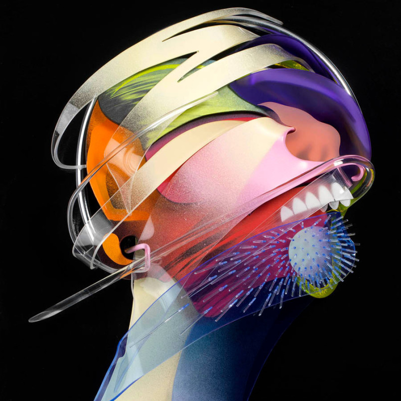 Amazing Dimensional Paintings by Adam Neate
