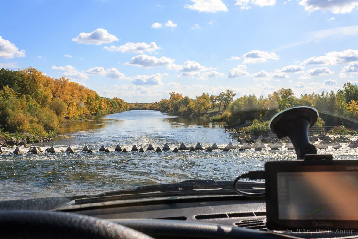 Переливная плотина на реке Большой Иргиз 10