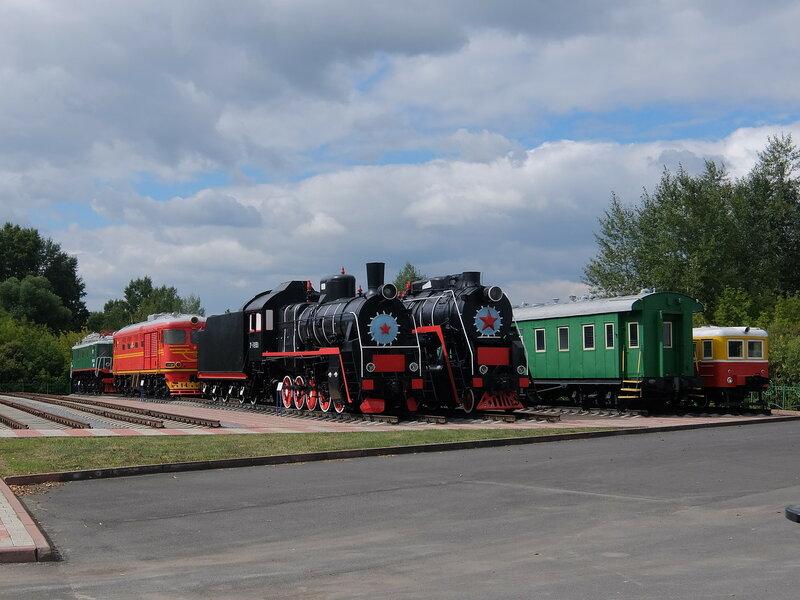 Кемерово - Музей железнодорожной техники