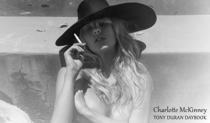 обнаженная Шарлотта МакКинни в проекте Tony Duran Daybook - Charlotte McKinney