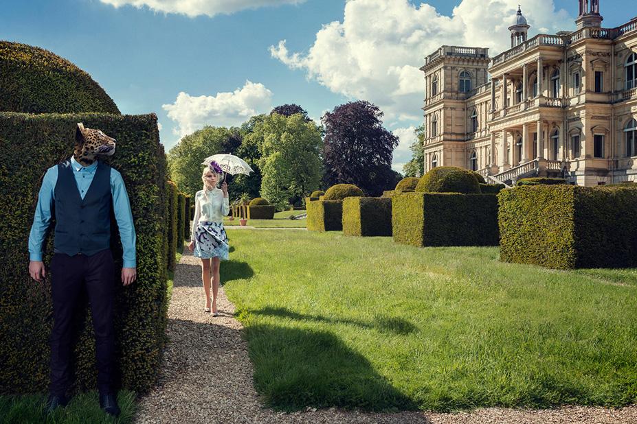 Le jardin 1 - Une vie de chateau / A golden youth / photo by Malo