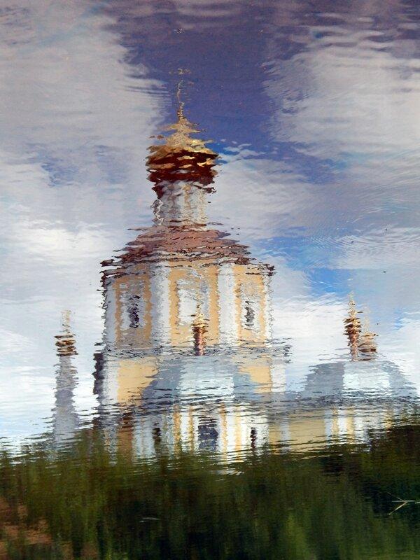 Отражение в речке