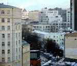 Зима на Малой Пироговской улице