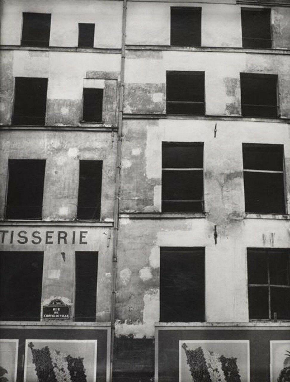 1936. Дома под снос на рю Отель-де-Виль