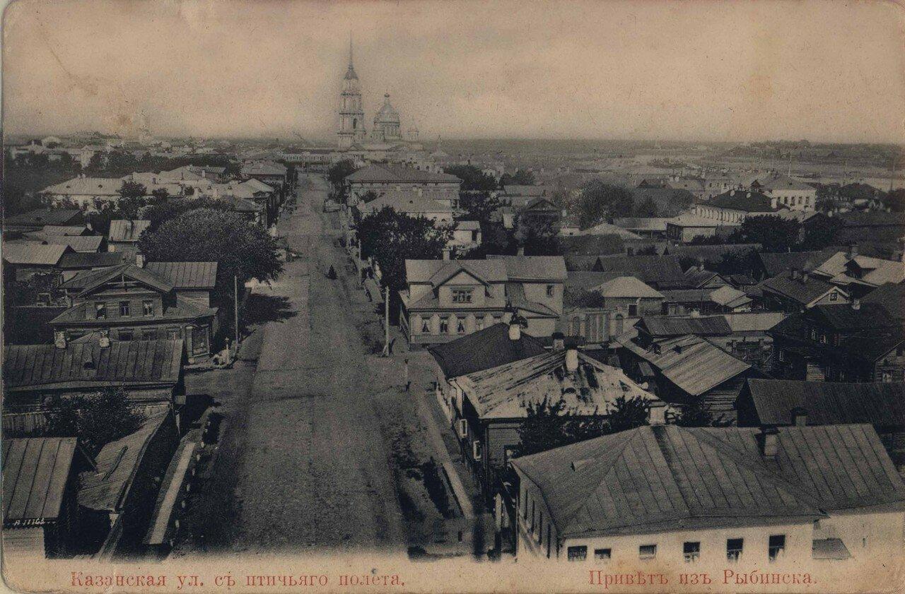 Казанская улица с птичьего полета
