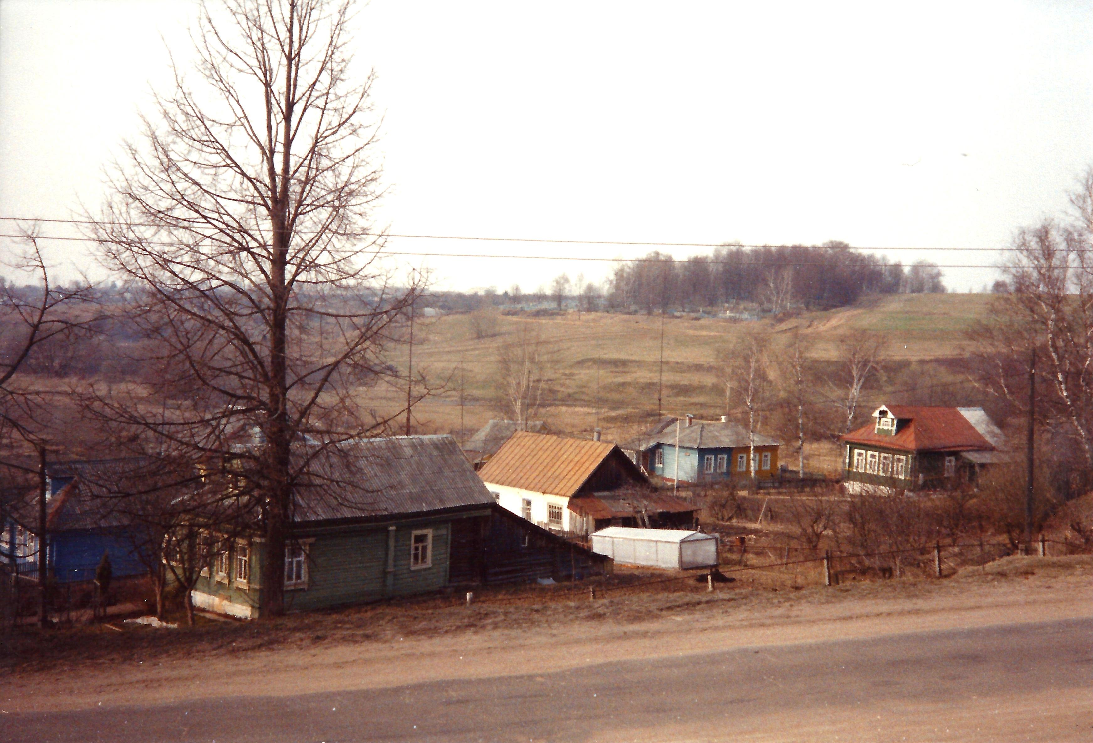 Деревня возле Волоколамска