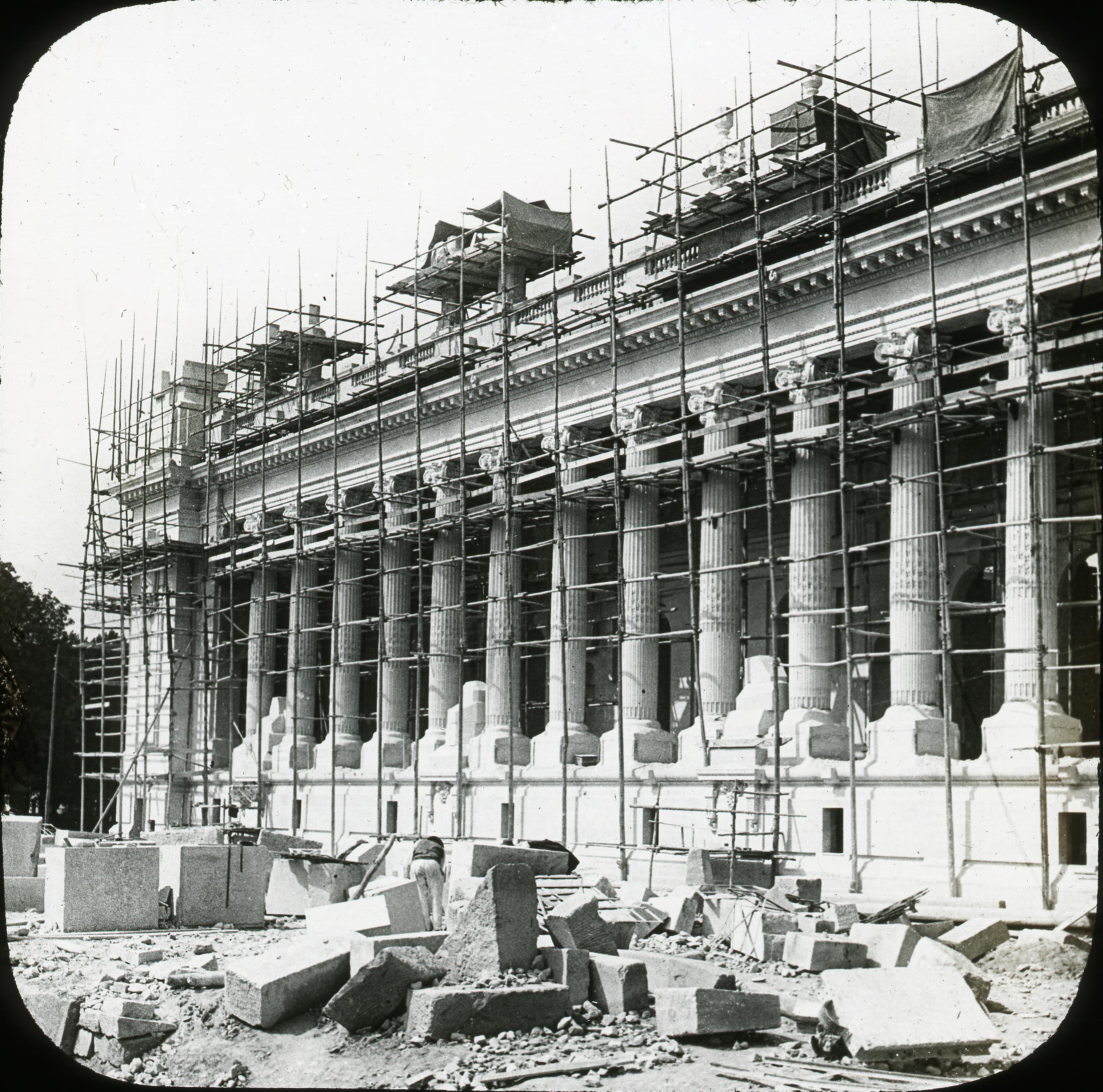 Строительство Большого дворца
