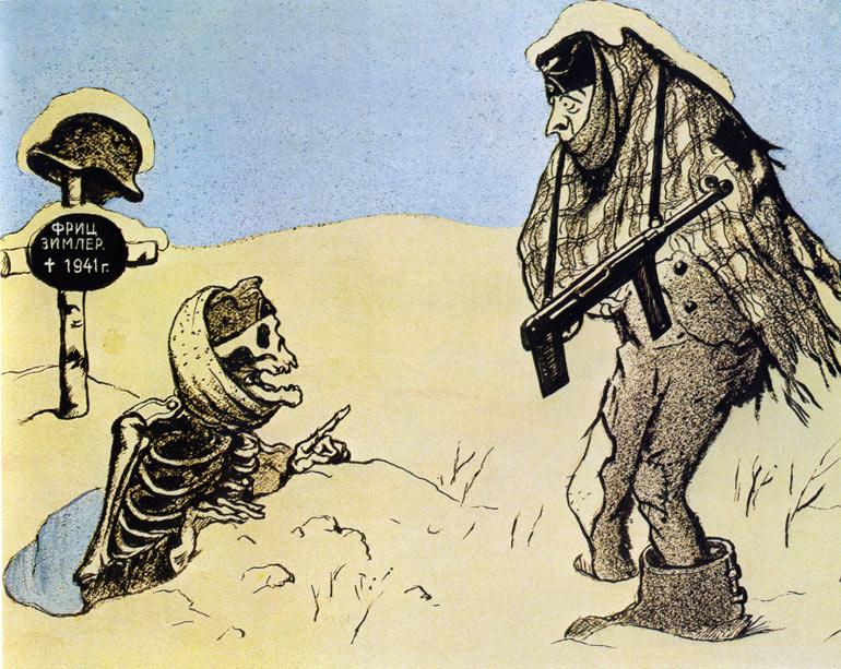 русская зима, немецкий солдат, потери немцев на Восточном фронте, как немцы мерзли от морозов