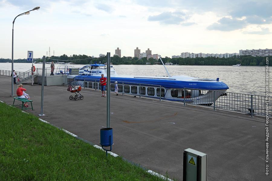 1 июня 2013 года. Москва. Северный речной порт. «Ракета-191»
