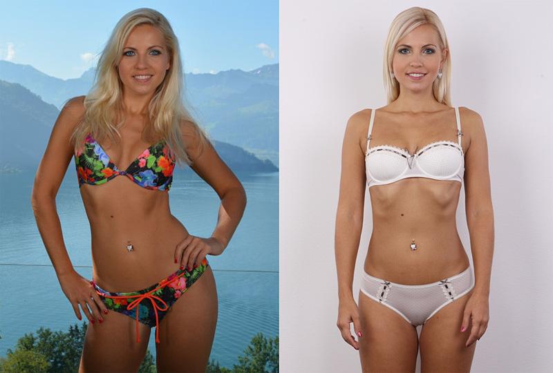 Чешская модель Jenni Gregg (Lucie Kralickova) без фотошопа