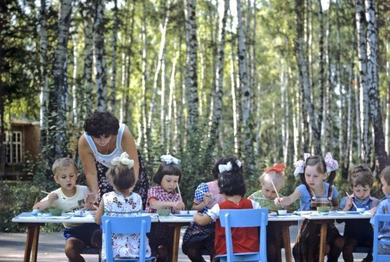 Детская дача Московского автозавода им. Лихачева, 1984
