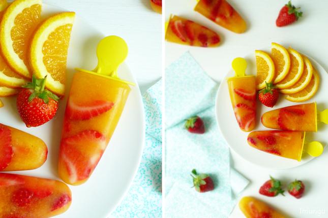 Как сделать мороженое фруктовый лёд в домашних Как сделать апельсиновый фруктовый лед