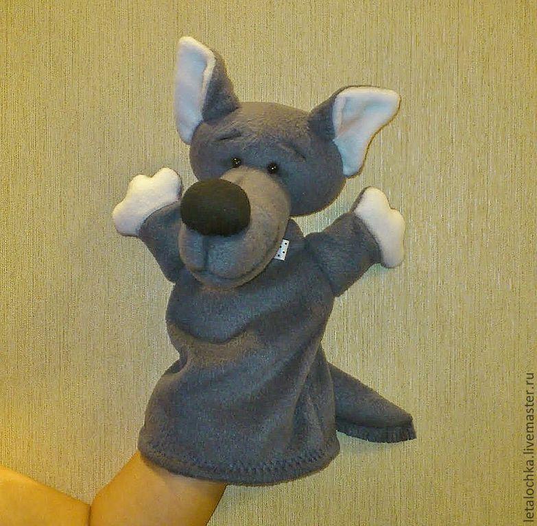 Добрый волк (кукла-перчатка)