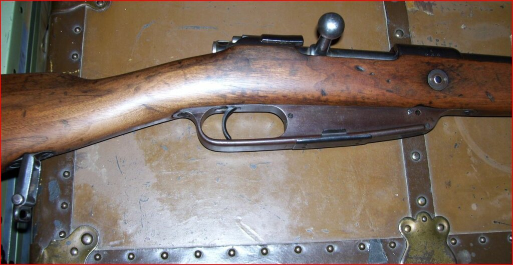 1891 Ludwig Loewe model 1888 German Commission Rifle -- right side