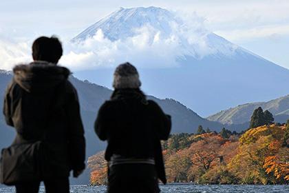 Япония первый раз за всю историю осталась в плюсе от туризма