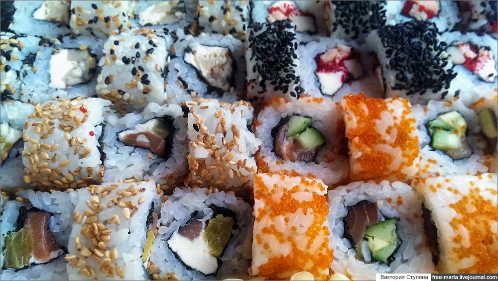 Устрицы, суши и Ялтаааа!