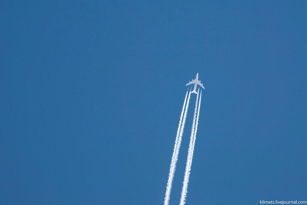 Фотослежка за самолетом