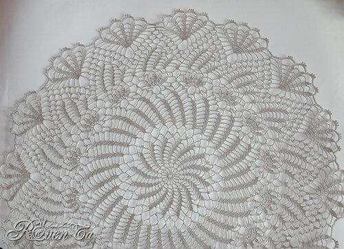 roventa-handmade, crochet, lace, салфетка крючком, скатерть крючком, ажурная салфетка