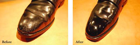 Японский перфекционизм, полировка ботинка (видео)