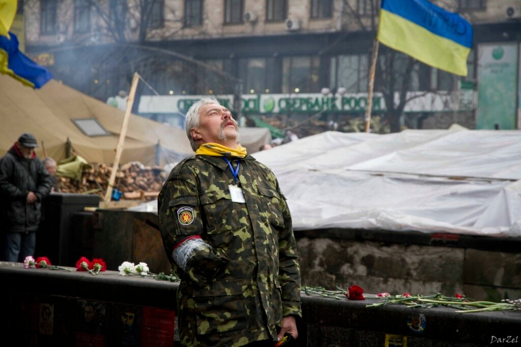 Украина. Киев. Майдан. Россия
