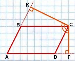 svoystva ugla mezhdu vyisotami parallelogramma