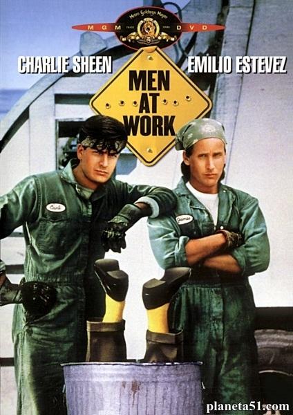Мужчины за работой / Men at Work (1990/DVDRip)
