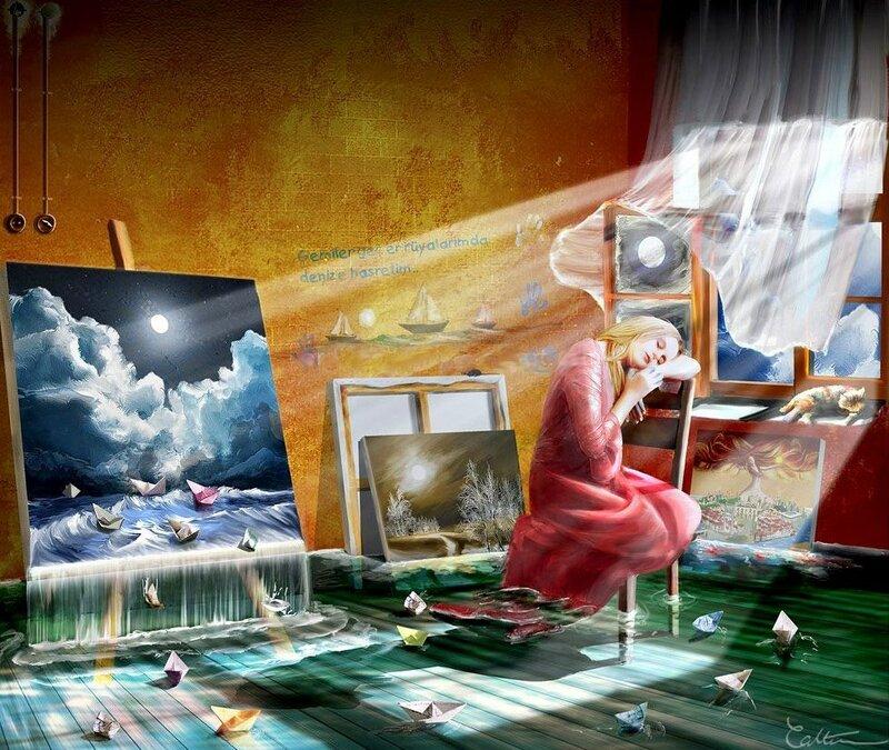 К чему снится картины которые рисовала
