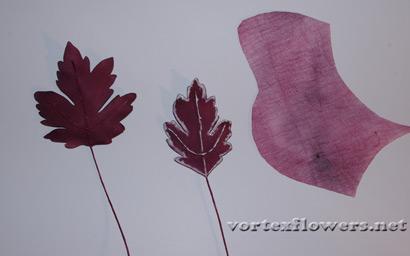 хризантема из ткани своими руками