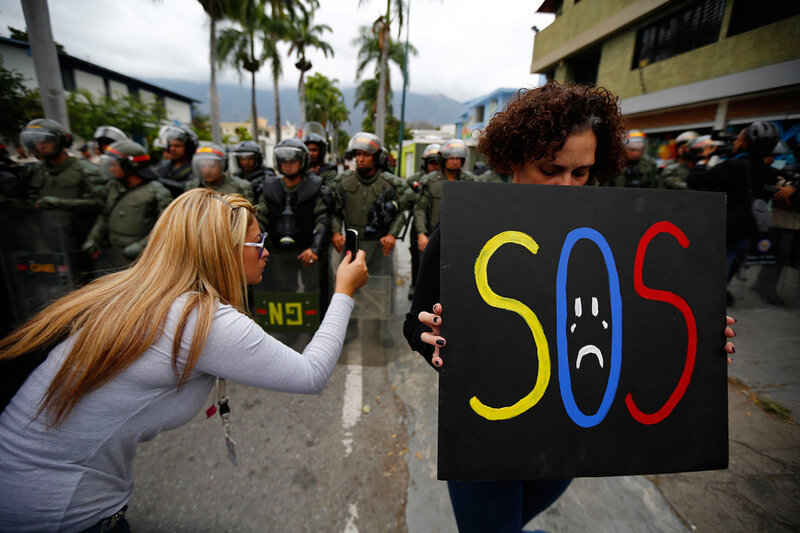VENEZUELA-PROTESTS/