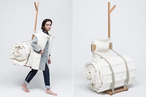 Коллекция мебели Huisraad от фирмы Makkink & Bey. Путешествуй с комфортом!