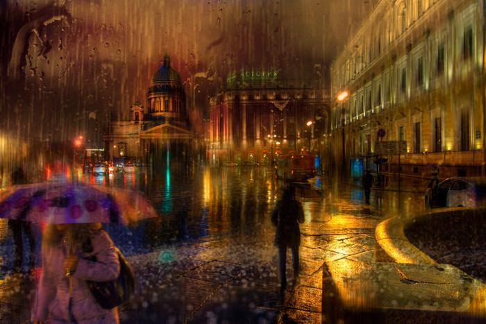 Дождливый Питер пронизанный мистикой… Фотограф Эдуард Гордеев (Eduard Gordeev)