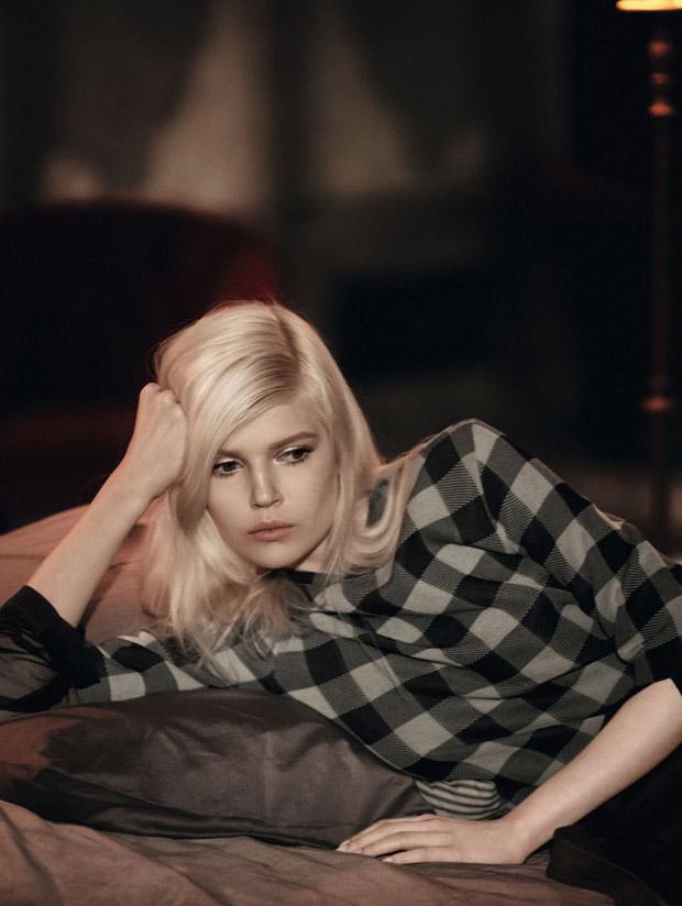 Ола Рудницка (Ola Rudnicka) в журнале Vogue China
