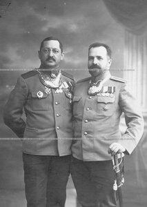 Полковник Семен Иванович Назимов и его брат капитан Павел Иванович Назимов.