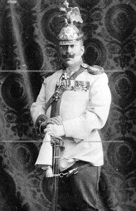 Князь Владимир Николаевич Орлов, полковник, флигель - адъютант свиты его величества, начальник походной канцелярии полка (портрет).