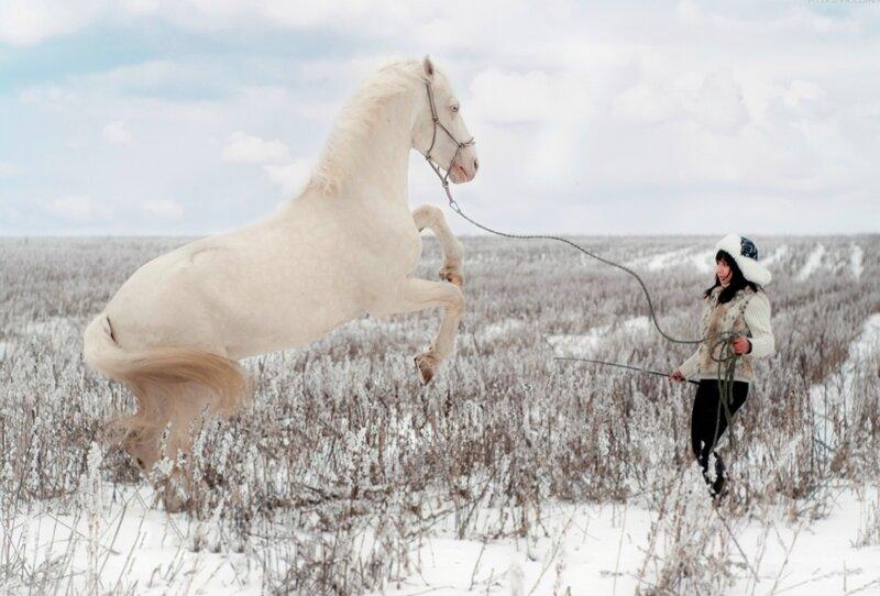 Катя и Ангел. Украина. Харьковская область.