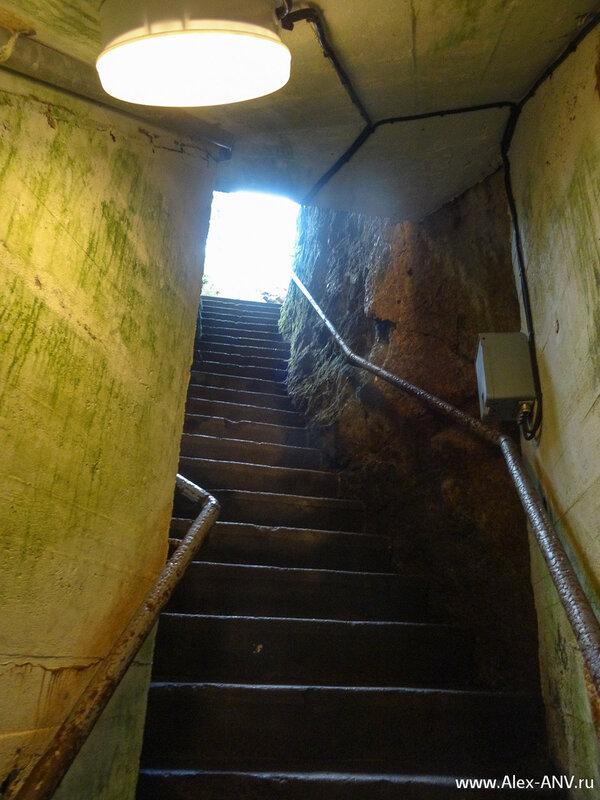 Лестница к свету, пьяным противопоказана