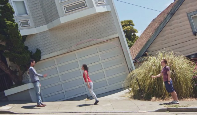 Gravity Illusions in the Streets of San Francisco