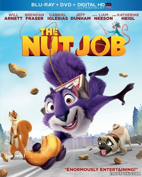 Реальная белка / The Nut Job (2014/BD-Remux/BDRip/HDRip/3D)